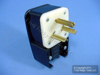Leviton INDUSTRIAL Straight Blade Right Angle Power Plug 7-30 30A 277V 9730-P