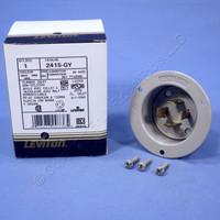 Leviton L14-20 Locking Flanged Inlet Plug Twist Lock Generator 20A 125/250V NEMA L14-20P 2415