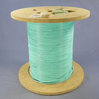 2298-ft Berk-Tek 2.0mm Aqua Duplex Fiber Furcation Tubing Cable for up to 900µm