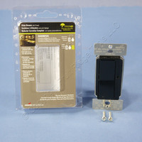 Cooper Black Single-Pole & Multi-Way Decorator Slide Dimmer 600W 120V DI06P-BK-K