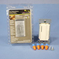 Cooper Almond Smart Master Dimmer Preset Light Switch Multi-Way 600W AIM06-A-K