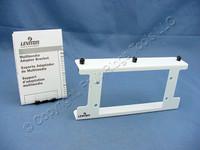 Leviton White Structured Multi-Media Adapter Mounting Bracket 5F100 47612-MMA
