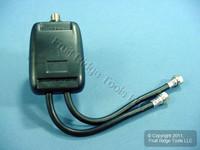 Leviton UHF/VHF Video Band Separator 75° Coax Cable C5157