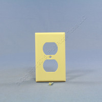 Leviton Ivory EXTRA DEEP 1-Gang Duplex Receptacle Cover Outlet Wall Plate 86303