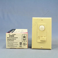 Cooper Ivory 110° Wallbox Occupancy Motion Sensor Wall Light Switch 1-Pole 6103V