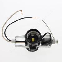 Leviton 2-Light Socket Cluster Pull Chain Lamp Holder 660W 250V 1A 125V T 4017-D4F