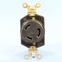 Eagle Twist Turn Locking Receptacle Outlet NEMA L11-30R 30A 250V 3Ø Bulk L1130R