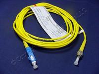 3M Leviton Fiber Optic Singlemode Simplex Patch Cable Cord ST SC SPC SPSCT-S03