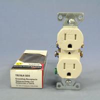 Cooper Light Almond TAMPER RESISTANT Duplex Receptacle Outlet NEMA 5-15R 15A 125V TR270LA