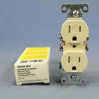 Cooper Almond TAMPER RESISTANT Duplex Receptacle Outlet NEMA 5-15R 15A 125V TR270A
