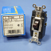 Leviton Brown SPDT Single Pole Double Throw Center-Off Maintained Contact Switch 20A 1285