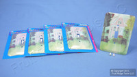 5 Victorian House 1-Gang Wall Plate Toggle Switch Cover Switchplates 89001-VHS