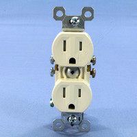 Pass & Seymour Light Almond Tamper Resistant Receptacle Outlet 15A 5-15R 3232TR-LACC14