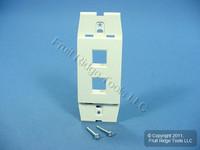 Leviton Quickport Sand Acenti 2-Port Wallplate Insert AC642-SND