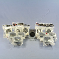 12 Cooper Wiring Devices Receptacle Dryer Oven Range Stove Outlets NEMA 14-30R 30A 125/250V 1257