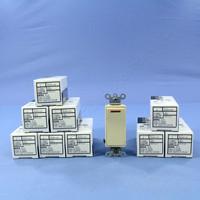 10 Leviton Ivory Decora LIGHTED COMMERCIAL Rocker Wall Light Switches 277V 5649-2I