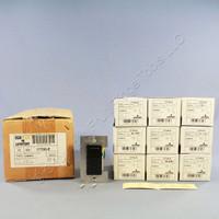 10 Leviton Black Scene Selector MicroDimmer Controller Switches 5-Key 17700-E