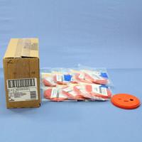 10 Leviton 47615-CST Orange Quickport Cat5e Cat6 S-Video Jack Termination Coasters