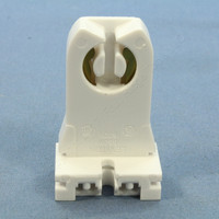 Leviton Fluorescent Lamp Holder Light Socket T8 T12 Medium Bi-Pin TALL 11/32 Thickness 13355