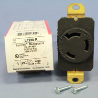 Pass & Seymour TurnLok Twist Locking Receptacle Outlet Device NEMA L12-30R 30A 480V 3Ø L1230-R