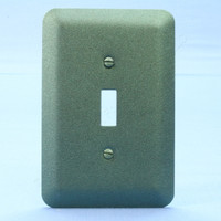 Leviton JUMBO Metallic Green Switch Cover Oversize Toggle Wallplate Switchplate 89301-MGR