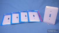 5 Leviton JUMBO Pink Switch Covers Oversize Toggle Wallplate Switchplates 89301-PNK