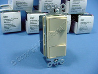 10 New Cooper Ivory Combination Decorator DOUBLE Rocker Switch Controls 3282V