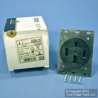Leviton Receptacle Power Outlet Straight Blade 18-30R 30A 3ØY 120/208V 8330-FR
