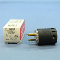 New Pass & Seymour Extra-Hard-Use Hospital Grade Straight Blade Ground Indication Plug NEMA 5-20P 20A 125V 5366-XHG