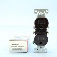 Cooper Brown TAMPER RESISTANT Duplex Receptacle Outlet NEMA 5-15R 15A 125V TR270B