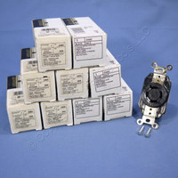 10 Leviton L20-20 Turn Locking Receptacles Turn Twist Lock Outlets NEMA L20-20R 20A 347/600V 3ØY 2460