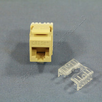 Pass and Seymour Legrand Ivory Keystone Cat 5e+ Jack Cat5e RJ45 T568A/B Category 5e+ KS58-I