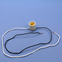Leviton Unglazed Porcelain Lampholder Incandescent Fixture 660W 250V 8052-999
