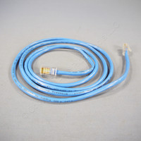 Leviton Blue Cat 5 5 Ft Ethernet LAN Patch Cord Network Cable Cat5 52455-5L