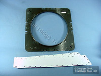 "New Leviton Ceiling Speaker Rough-In Trim Adapter Bracket 9-1/4"" Opening LB32P"