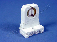 Leviton Fluorescent Lamp Holder T-8 T-12 Light Socket G13 Base T8 T12 Medium Bi-Pin 13351