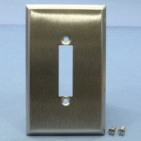 Arrow Hart 1-Gang Type 302/304 Stainless Steel Manual Contactor Switch Wallplate Cover 4371