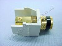 Leviton Black/White Quickport Binding Post 40833-BWE