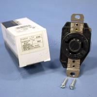 Leviton L9-20 Turn Locking Receptacle Outlet Twist Lock NEMA L9-20R 20A 600V 2350