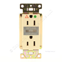 Pass and Seymour Ivory Transient Voltage Surge Suppressor Hospital Grade 2P 3W Isolated Ground 5-15R 15A 125V IG6262-ISP