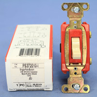 Pass and Seymour Ivory Single Pole CANADIAN ON/OFF Toggle Light Switch 20A 347V PS372010-I