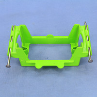 Pass and Seymour Green New Construction 1-Gang  Nail On Low Voltage Bracket PLV-1R