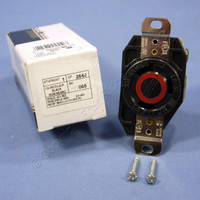 Leviton L8-30 Twist Locking Receptacle Outlet Turn Lock NEMA L8-30R 30A 480V 2640-065