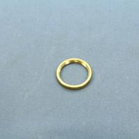Leviton Finishing Flat Brass Nut 13/16-20 Thread for Candelabra Lampholders 25297
