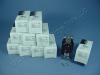 10 Leviton L12-20 Twist Locking Receptacles Turn Lock Outlet NEMA L12-20R 20A 3Ø 480V 2380-065