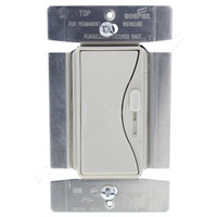Cooper Aspire Mark 10 Desert Sand 1-Pole/3-Way Preset Decorator Slide Dimmer Light Switch 8A 120V Fluorescent 9568DS