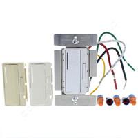 Cooper ACCELL White Ivory Light Almond Smart Master Dimmer Preset Fluorescent Light Switch Multi-Way 1000VA 120V AF10-C2