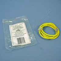 Leviton Yellow Cat 5 3 Ft Ethernet LAN Patch Cord Network Cable Cat5 52455-3Y