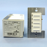 Leviton ON/OFF Preset White Multi-Location 4-Scene Dimmer Switch MicroDim Fluorescent 17768-W