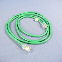 New Leviton Green Cat 5 5 Ft Ethernet LAN Patch Cord Network Cable Cat5 42454-5G